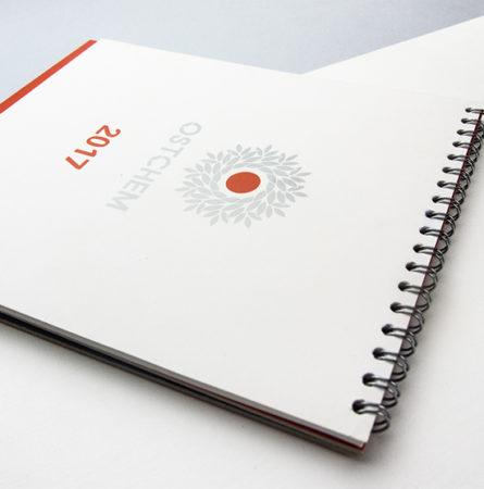 Корпоративные календари Ostchem 01