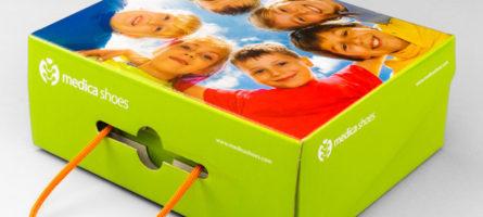 Коробка для обуви. Medica Shoes 01